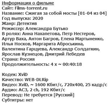 Сжигая за собой мосты (2020)
