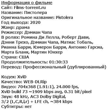Пистолера (2020)