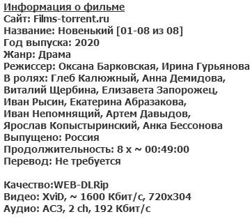 Новенький (2020)