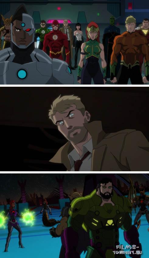 Тёмная Лига справедливости: Война Апоколипса (2020)