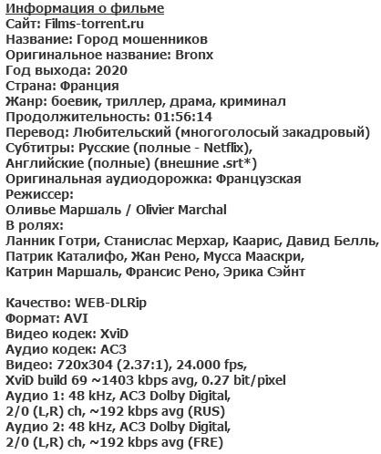 Город мошенников (2020)