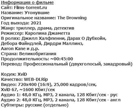 Утонувшие (2021)