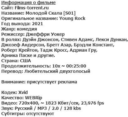 Молодой Скала (2021)