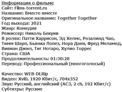 Вместе-вместе (2021)