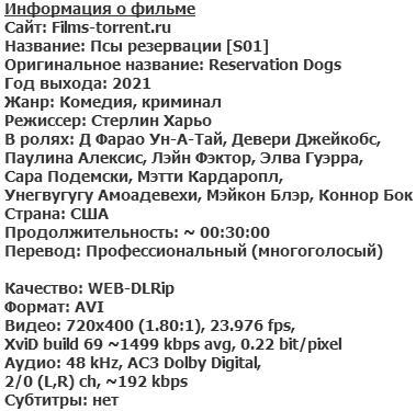 Псы резервации (2021)