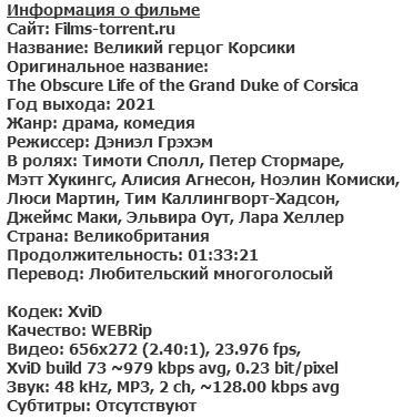 Великий герцог Корсики (2021)