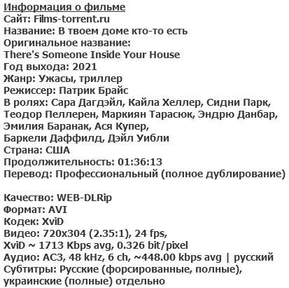 В твоем доме кто-то есть (2021)