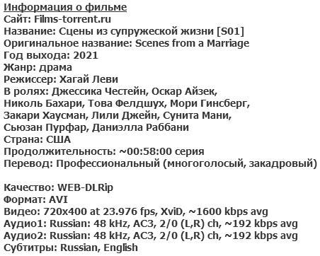 Сцены из супружеской жизни (2021)